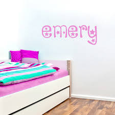 Chp Code 1141 28 names wall stickers childrens wall decals name wall