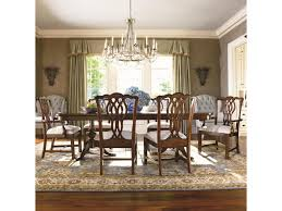 thomasville tate street double pedestal dinner table adcock