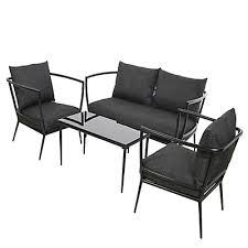 conforama ch canapé salon de jardin fauteuil canapé de jardin mobilier de jardin