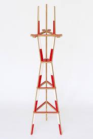 the sutro coat rack a wooden coat rack modeled after san
