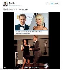 Tom Hiddleston Memes - the internet creates hilarious memes mocking taylor swift and tom