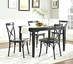 rustic metal dining room chairs marseille 3 piece set by home loft