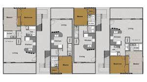 Multi Family Floor Plans Cargo Architecture Park View Multi Family Sundog Structures Llc
