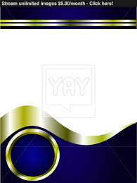 a royal blue and gold and white business card template vector
