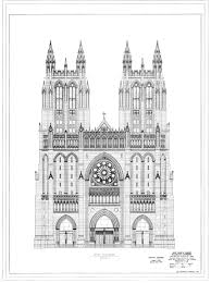 Gothic Architecture Floor Plan Washington National Cathedral Collection At The National Building