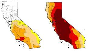 california drought map january 2016 roughly half of california out of drought kron4