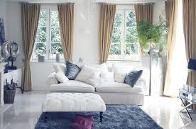 Beautiful Living Room Decorating Ideas Pictures Designing Idea - Living room with white sofa