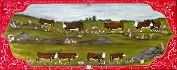 decoration de montagne nathalie renzacci la montagnée poya poyas poya de vache