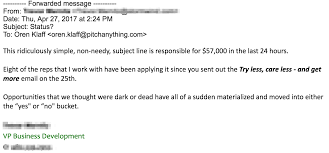 Follow Up Business Email by The 1 Word Follow Up Email That Generated 57k In 24 Hours
