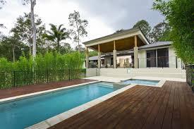 Modern Budget Deck Decks Around Pools Modern Doherty House Decorate Decks Around