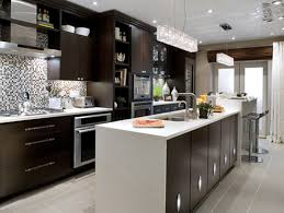 captivating interior kitchen design with stylish small island and