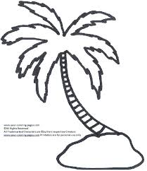 coloring pictures of a palm tree palm tree coloring pages palm leaves coloring pages palm tree