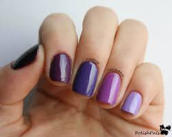 polish pals purple ombre nails