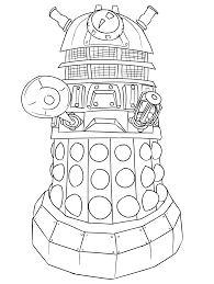 dr who coloring page coloring pages young pinterest