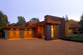 cool home garages spacious wheeler residence front yard landscaping plan featured