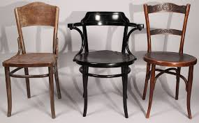 lot 443 assembled lot of 3 thonet chairs