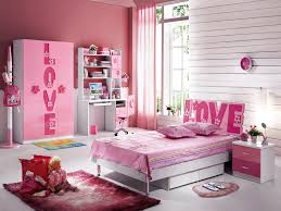 pink wall little boys room sets with bed on the white modern