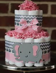 baby girl themes for baby shower 3 tier baby girl pink and gray cake baby shower centerpiece