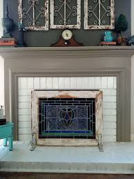 Fireplace Cover Up Best 25 Farmhouse Fireplace Screens Ideas On Pinterest