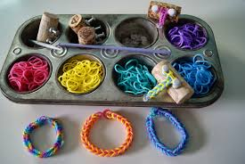 bracelet bands rubber images Nest full of eggs weaving rubber band bracelets jpg