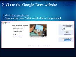 Creating A Google Spreadsheet How To Use Google Spreadsheet 1 Create A Gmail Account If You Do