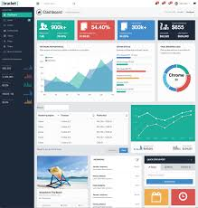 simple excel dashboard templates and bracket dashboard theme