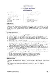 cover letter human resources consultant job description senior