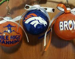 denver bronco nfl football bronco logo nfl gift football