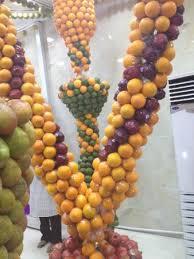 fruit displays hanging fruit displays picture of juice world dubai tripadvisor