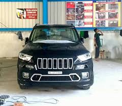 jeep car mahindra custom mahindra tuv300 modified to look like a jeep cherokee