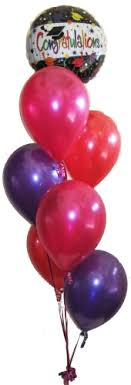 balloon arrangements for graduation graduate balloon bouquet helium balloons perth congratulations