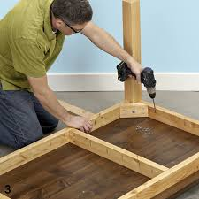 Diy Wooden Table Top by Lowes Gives Directions For Building Base For My Door Table Cabin