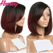 show me hair colors 1bt99j color ombre bob wig full lace glueless lace front wig two