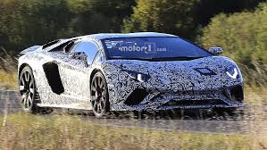 lamborghini 2018 aventador 2018 lamborghini aventador facelift spied with superveloce bits