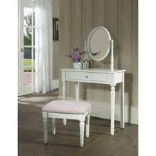 Bobkona St Croix Collection Vanity Set With Stool White Amazon Com Bobkona St Croix Collection Vanity Set With Stool