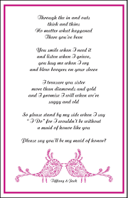 bridesmaid poems to ask designs by alaina