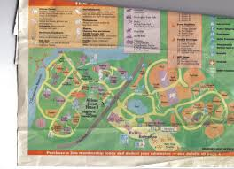 Zoo Lights Columbus Oh by Zoo Tails Columbus Zoo Map From 2000