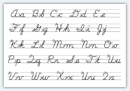 cursive letter fonts copy and paste best template collection
