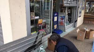 bureau de tabac rennes rennes casse à la voiture bélier dans un tabac presse