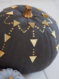 six painted pumpkin designs for halloween bang on style