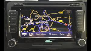 vw navigationssystem rns 510 rcd 510 alle funktionen youtube
