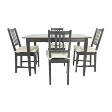 Ikea Dining Chairs by 51 Off Ikea Ikea Ingo Pine Table With Ivar Pine Chairs Tables