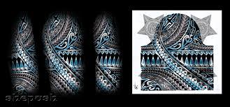 half sleeve tribal by shepush on deviantart