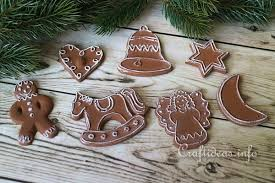 craft plaster of cookie ornaments