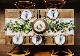 wedding table settings 3 ideas of wedding table settings fiftyflowers the