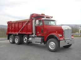 tri axle steel dump trucks for sale