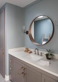 Nautical Bathroom Mirrors by Threshold Natural Round Mirror