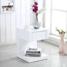 White Side Tables For Living Room Side Table White Gloss Side Tables Living Room White Gloss