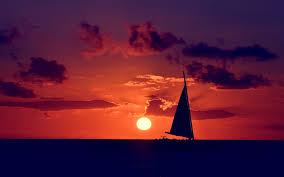 Sailboat Wallpaper Sailing Ocean Sunset Wallpaper 1920x1200 31712