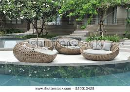 Outdoor Rattan Furniture by Outdoor Furniture Stock Images Royalty Free Images U0026 Vectors